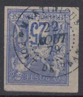 #154 COLONIES GENERALES N° 36 Oblitéré En Bleu Fort-de-France (Martinique) LUXE +++ - Sage