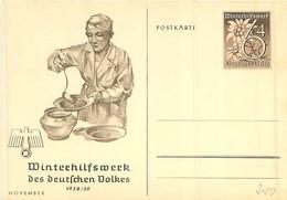 WHW  -1938/39 - November -Eintopf -Ungel. - Brieven En Documenten