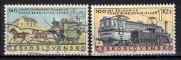 Tchécoslovaquie 1968 Mi 1806-7 (Yv 1654-5), Obliteré, - Usados