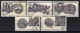 Tchécoslovaquie 1968 Mi 1809-13 (Yv 1657-61), Obliteré, - Usados