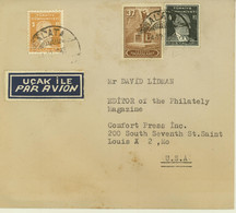 Turkey Airmail Cover To USA (461) - Briefe U. Dokumente