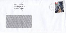 Brief Von 4050 Traun Mit 85 Cent Bärenschützklamm Dispenser 2021 - 2011-... Cartas