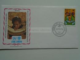 AV653.5  Brasil Brazil  Cover  -FDC  1979   Brasilia - Children  - IYC - Cartas