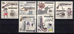 Tchécoslovaquie 1969 Mi 1854-9 (Yv 1701-6), Obliteré, - Usados