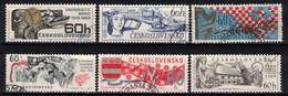 Tchécoslovaquie 1969 Mi 1860-5 (Yv 1707-12), Obliteré, - Usados