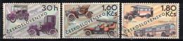 Tchécoslovaquie 1969 Mi 1866-8 (Yv 1713-5), Obliteré, - Usados