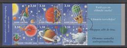 FINLANDIA 2000 - SELLOS DE FELICITACIONES - YVERT Nº 1477-1482 EN CARNET - SPECIMEN - Nuevos