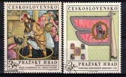 Tchécoslovaquie 1969 Mi 1876-7 (Yv 1723-4), Obliteré, - Usados