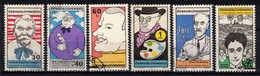 Tchécoslovaquie 1969 Mi 1878-83 (Yv 1725-30), Obliteré, - Usados