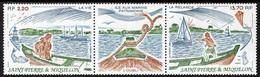 St. Pierre & Miquelon - 1989 - Natural Heritage - Île Aux Marins Island - Mint Stamp Set - Neufs