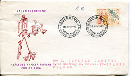 Danimarca 1973 - Cartas