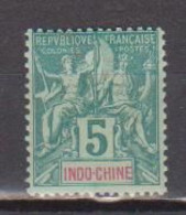 INDOCHINE        N°  YVERT  6  NEUF AVEC CHARNIERES      (CHAR   02/30) - Unused Stamps