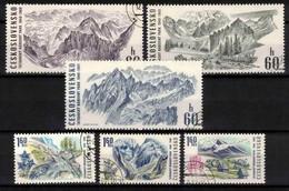Tchécoslovaquie 1969 Mi 1892-7 (Yv 1738-43), Obliteré, - Usados