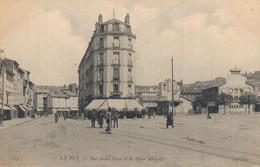 H2702 - LE PUY - D43 - Rue Saint Haon Et La Place Michelet - Le Puy En Velay