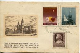 Polonia 1955 FDC - FDC
