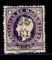 ! ! Mozambique - 1903 King Luis OVP 65 R (Perf. 13 1/2) - Af. 70a - Used - Mozambique