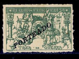 ! ! Mozambique - 1918 Postage Due - P 41 - MH - Mozambique