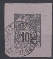 #154 COLONIES GENERALES N° 50 Oblitéré Cachet Maritime Saigon à Haiphong Paq Fr  RARE +++ - Alphée Dubois