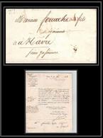 0611 Paris Marque Postale TTB état 9/12/1819 Pour Le Havre LAC Lettre Cover France - 1801-1848: Precursori XIX