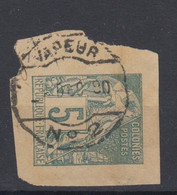 #154 COLONIES GENERALES N° 49 Oblitéré Cachet Maritime Vapeur N° 2 (Cochinchine) - Alphée Dubois