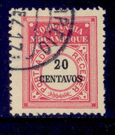! ! Mozambique Company - 1916 Postage Due 20 C - Af. P 29 - Used - Mozambique