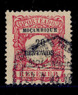 ! ! Mozambique - 1917 Postage Due 20 C - Af. P 39 - Used - Mozambique