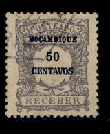 ! ! Mozambique - 1917 Postage Due 50 C - Af. P 40 - Used - Mozambique