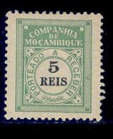 ! ! Mozambique Company - 1906 Postage Due 5 R - Af. P 01 - MH - Mozambique