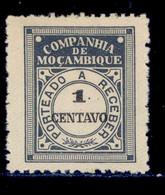 ! ! Mozambique Company - 1916 Postage Due 1 C - Af. P 22 - MH - Mozambique