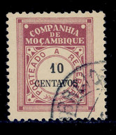 ! ! Mozambique Company - 1916 Postage Due 10 C - Af. P 27 - Used - Mozambique
