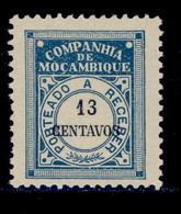 ! ! Mozambique Company - 1916 Postage Due 13 C - Af. P 28 - MH - Mozambique