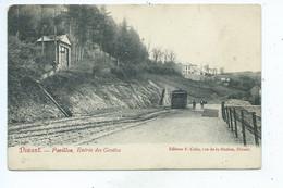 Dinant Pavillon Entrée Des Grottes Tram - Dinant