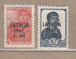 LATVIA 1941 Germany Occupation MNH / Mint (**/*) #20890 - Ocupación 1938 – 45