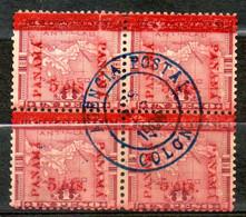 PANAMA Carte De L Isthme De  Panama 1892-96 N° 17 - Panamá