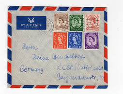 GB - LONDON: 1961 Wildings Air Mail Cover To Germany (S55) - Covers & Documents