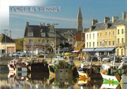 14 - Port En Bessin - Le Port Et Les Chalutiers - Port-en-Bessin-Huppain
