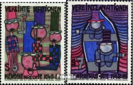 UNO - Wien 36-37 (kompl.Ausg.) Postfrisch 1983 Menschenrechte Hundertwasser - Nuevos