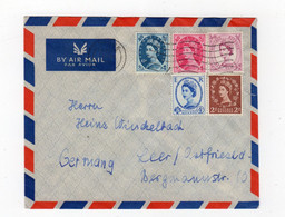 GB - LONDON: 1961 Wildings Air Mail Cover To Germany (S56) - Covers & Documents