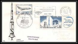 4866/ Espace Space Raumfahrt Lettre Cover Briefe Cosmos 17/2/1967 Fusée Diamant France - Europa