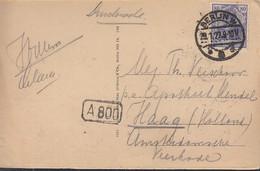 INFLA DR  149 A II EF, Ins Ausland, Auf AK: Berlin, Dom, Gestempelt: Berlin 28.1.1922 - Infla
