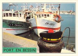 14 - Port En Bessin - Premier Port De Pêche Normand - Port-en-Bessin-Huppain
