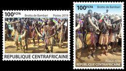 CENTRAL AFRICA 2019 - Brotto De Bambari, 2v. Official Issue [CALC190601-2] - Zentralafrik. Republik