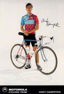 CYCLISME: CYCLISTE : ANDY HAMPSTEN - Ciclismo