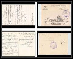 0994 6ème Régiment De Tirailleurs Algériens 6ème Régiment 14ème Cie Mahiridja 1913 Lettre Cover France Guerre Maroc War - Military Postmarks From 1900 (out Of Wars Periods)