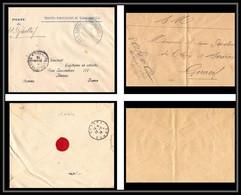 1064 1914/1918 Poste D'el Guettaf 1914 Lot De 2 Lettres Cover France Guerre Maroc War - Guerra De 1914-18