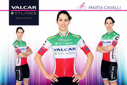 CYCLISME: CYCLISTE : MARTA CAVALLI - Ciclismo