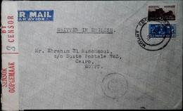 F 19 1940/45     Lettre  Censurée Afrique Du Sud égypte - Südwestafrika (1923-1990)