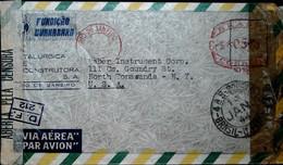 F 19 1940/45     Lettre  Censurée Brésil Usa - Briefe U. Dokumente