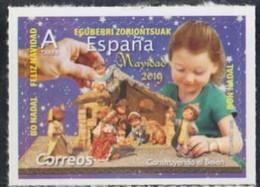 ESPAGNE SPANIEN SPAIN ESPAÑA 2019 CHRISTMAS NAVIDAD: BUILDING BIRTH EL BELÉN S/A MNH ED 5353 YT 5104 MI 5399 - 2011-... Nuevos & Fijasellos