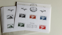 BLOC TRESOR DE LA PHILATELIE ANNEE 2015  10 BLOCS NEUFS - Mint/Hinged
